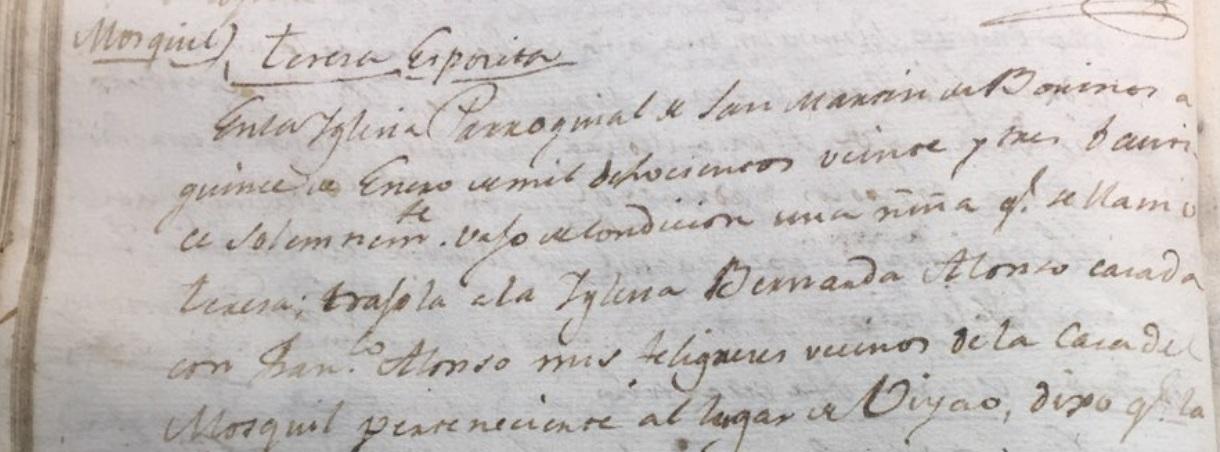 """""""Un poco de manta era su abrigo"""". Tres expósitas de Borines (1822, 1823 y 1829)"""